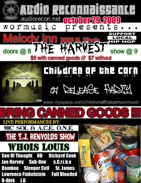 COTC release show flyer