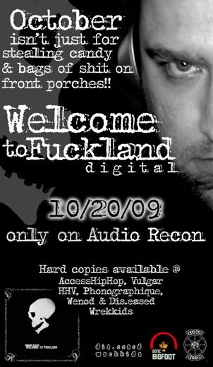 Fuckland (Lrg Flyer)