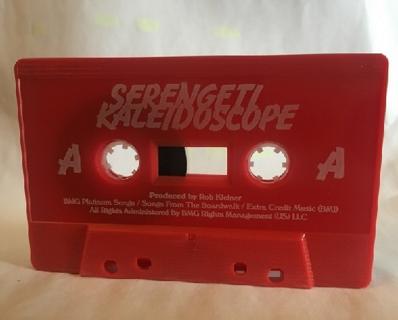 kaleidoscope tape red
